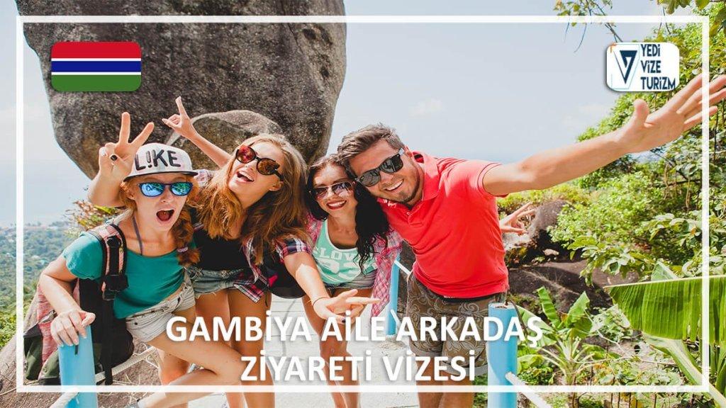 Aile Arkadaş Ziyareti Vizesi Gambiya