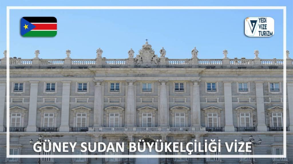 Büyükelçiliği Vize Güney Sudan