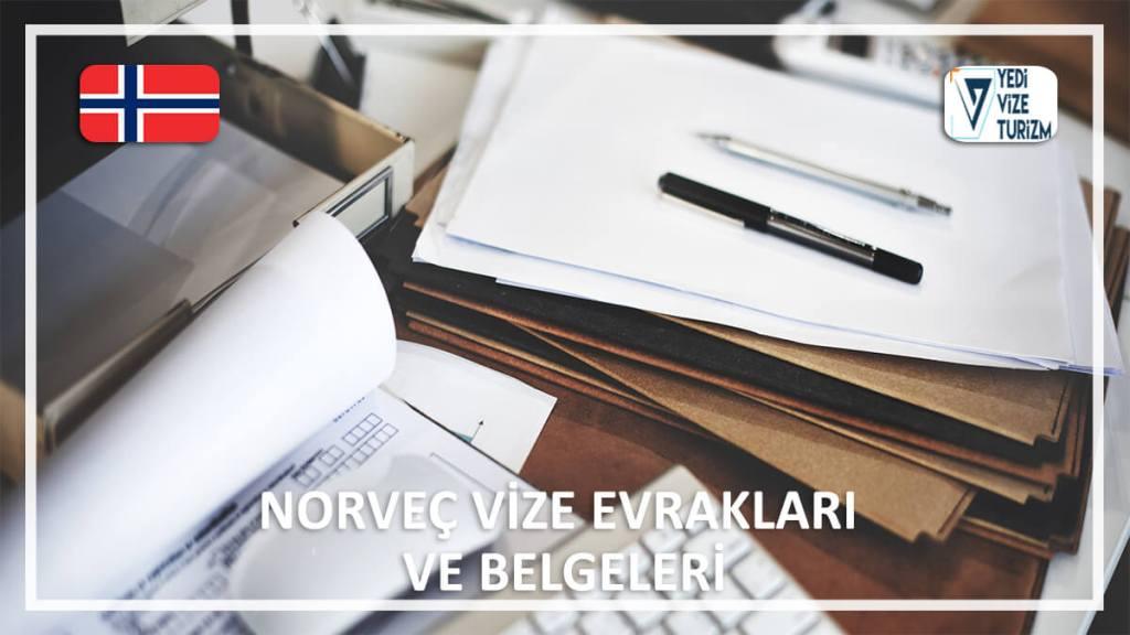 Vize Evrakları Ve Belgeleri Norveç