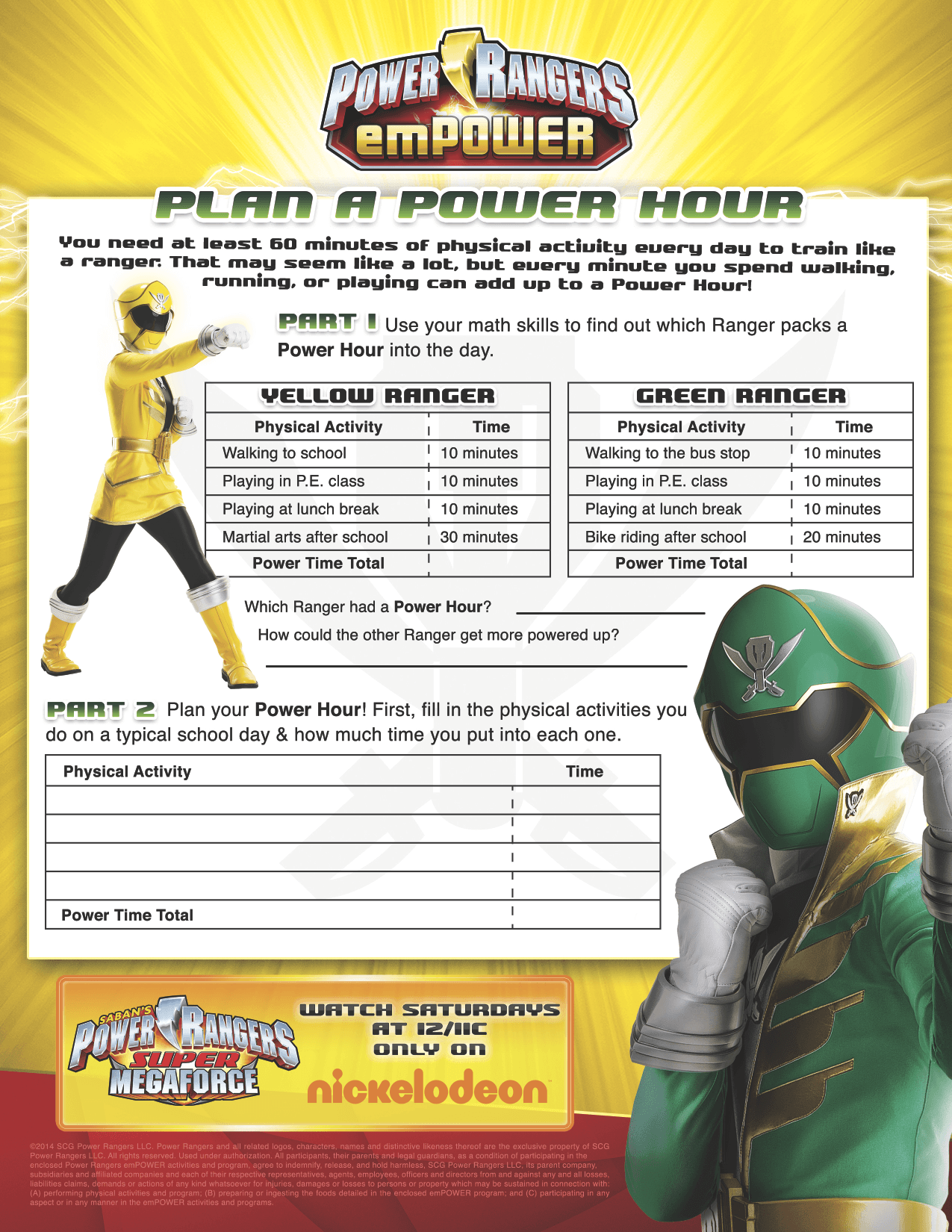 Morph Into Action With Power Rangers Super Megaforce