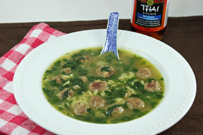 Thai Wedding Soup #TKeveryday