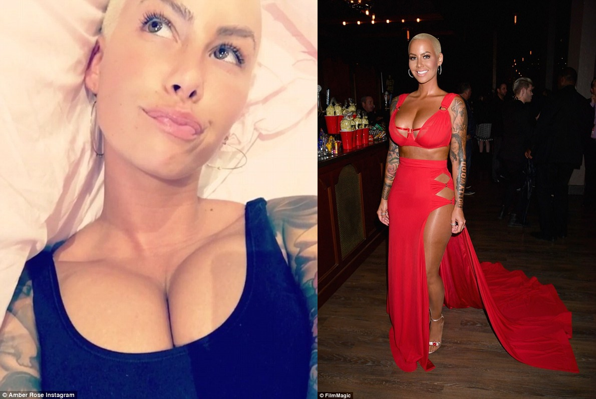 Instagram Amber Rose nude (23 photo), Topless, Cleavage, Boobs, see through 2006