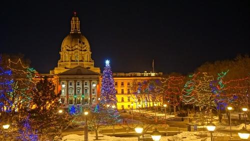 - Alberta Legislature Christmas Light-Up