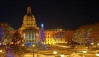 Alberta Legislature Christmas Light-Up