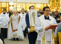 Nearly 10,000 pilgrims visit St Francis Xavier's relic in Calgary