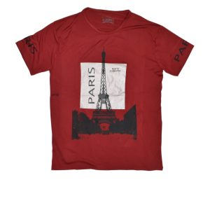 Maroon Paris T-Shirt