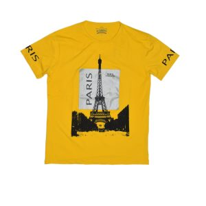 Golden Yellow Paris T-Shirt