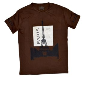 Brown Paris T-Shirt