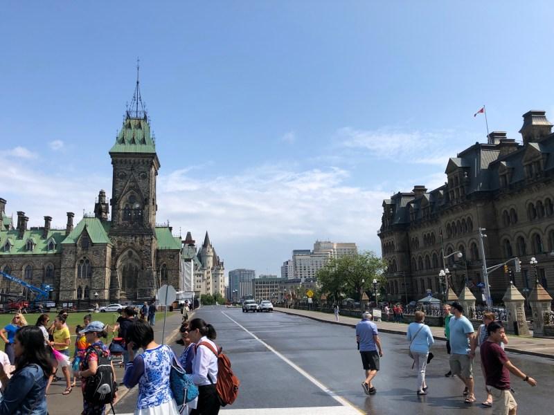 Parliament Hill in Ottawa Canada. Photo by EM @ KING.NET