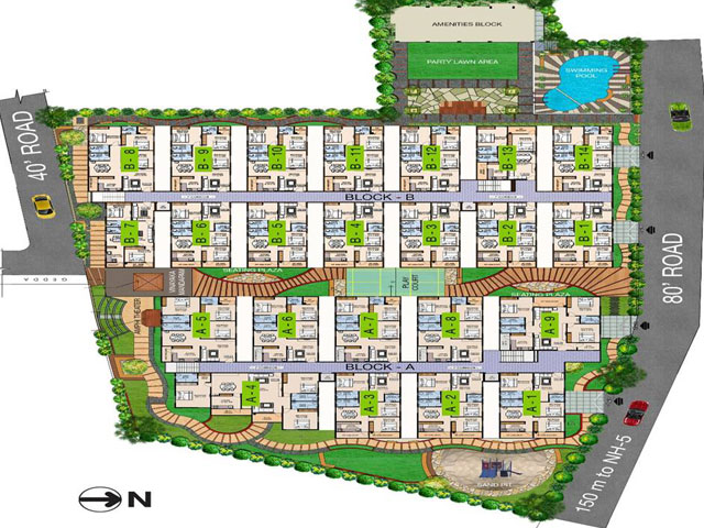 2 bhk flats for sale in visakhapatnam