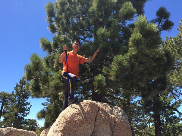 Chien-Chang (Kyle) Chen hiking