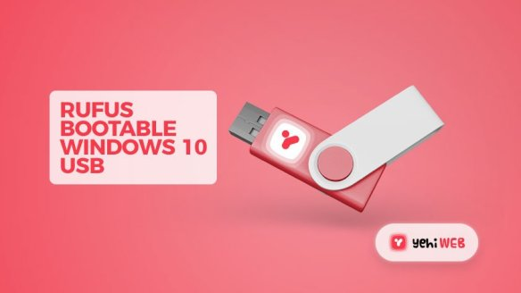 "Use ""Rufus"" to create Bootable Window 10 USB for Legacy BIOS and UEFI Yehiweb"