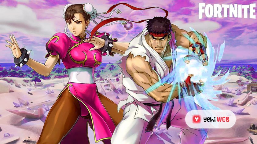 Leaks confirms Street Fighter icons Chun-Li and Ryu are joining Fortnite