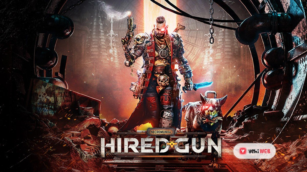 Warhammer 40K universe gets a solid dose of DOOM with Necromunda: Hired Gun.