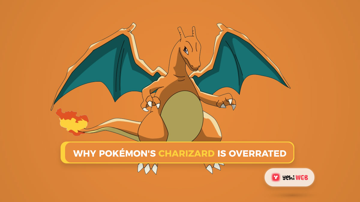 Why Charizard Is Overrated In Pokémon
