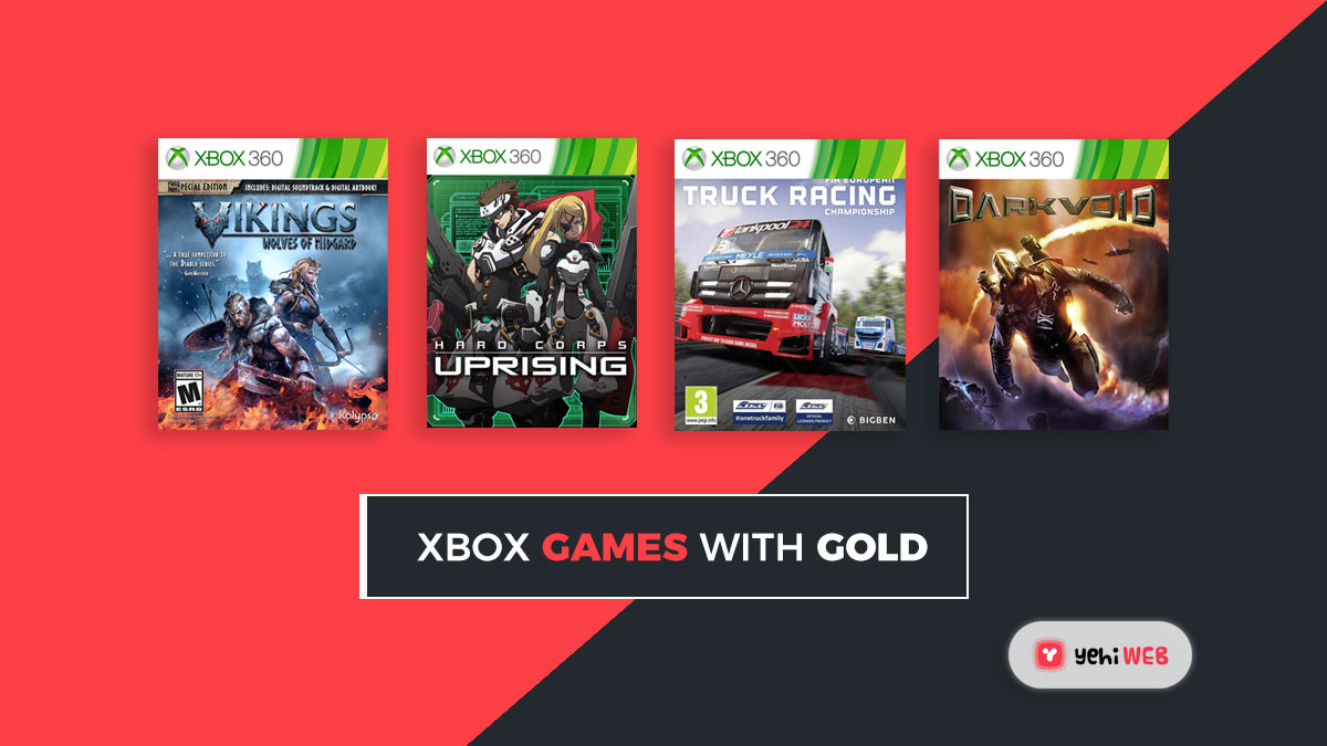 The April 2021 Xbox Games With Gold lineup revealed.