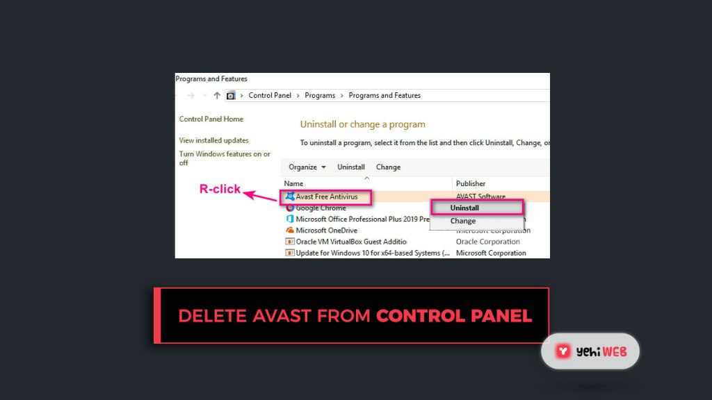 netflix error uninstall avast antivirus from control panel yehiweb
