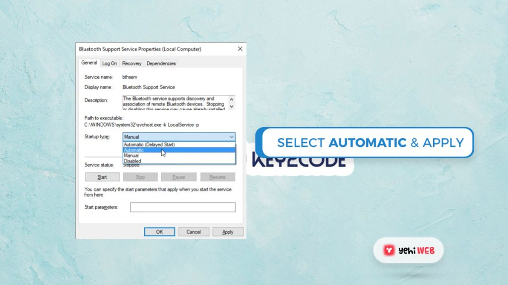 select automatic appy changes yehiweb