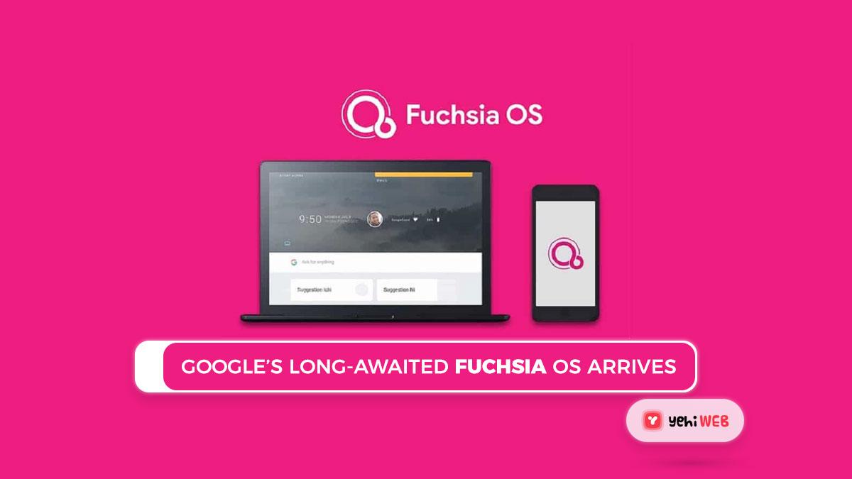 Google's long-awaited Fuchsia OS arrives first on old Nest Hub