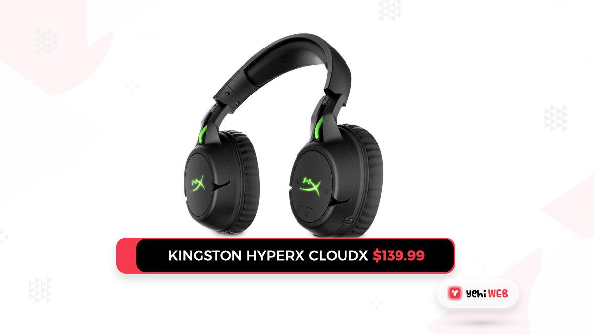 Kingston HyperX CloudX $139.99 yehiweb
