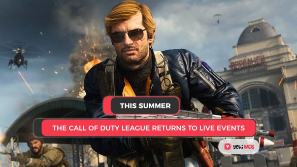 This summer, the Call of Duty League returns to live events Yehiweb