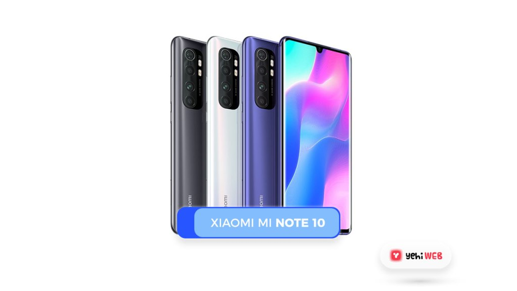 Xiaomi Mi Note 10 Yehiweb