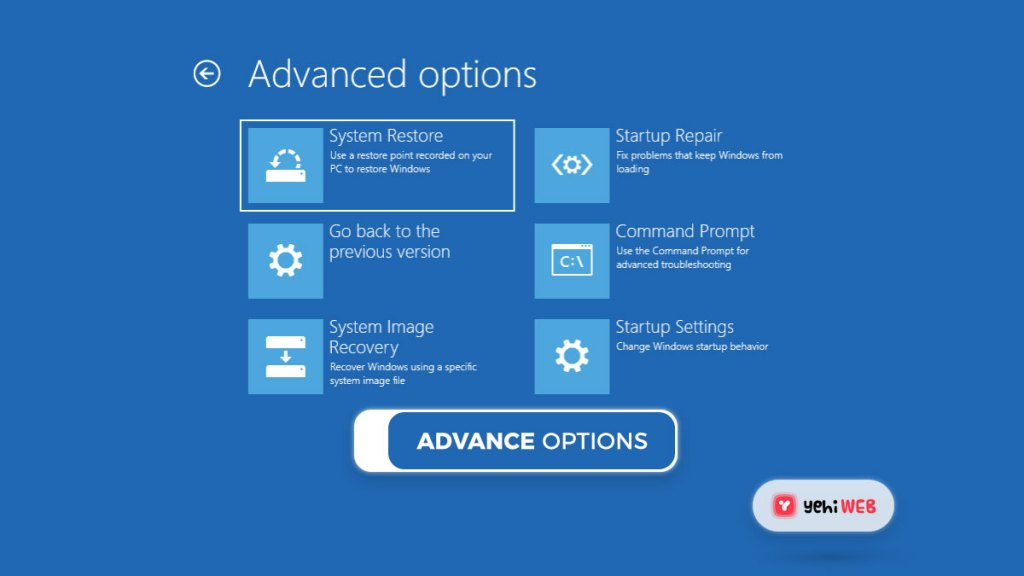 advance options yehiweb
