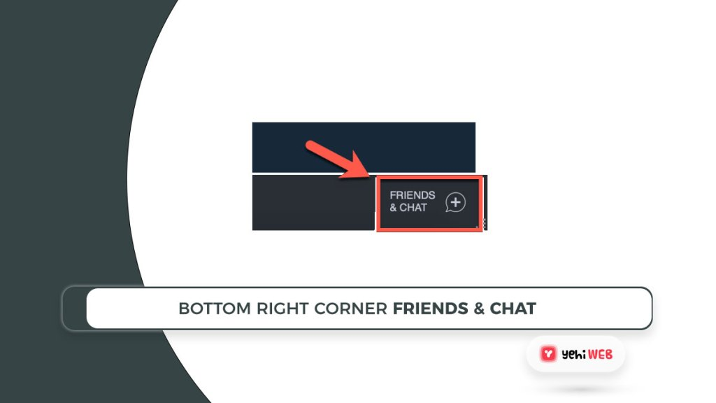bottom right corner friends and chat button steam yehiweb