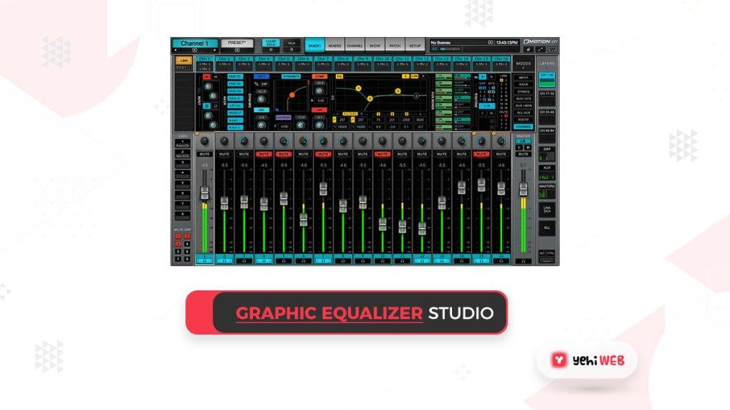graphic equilizer studio yehiweb