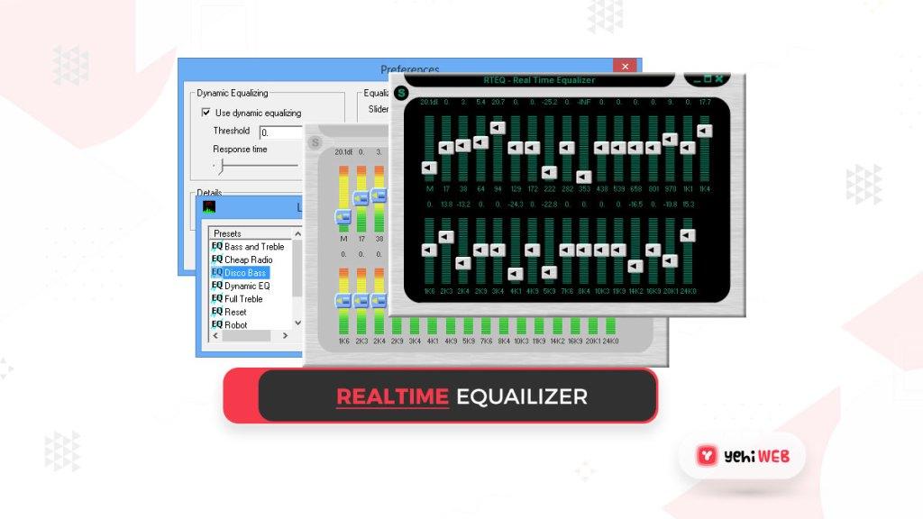 realtime equalizer yehiweb