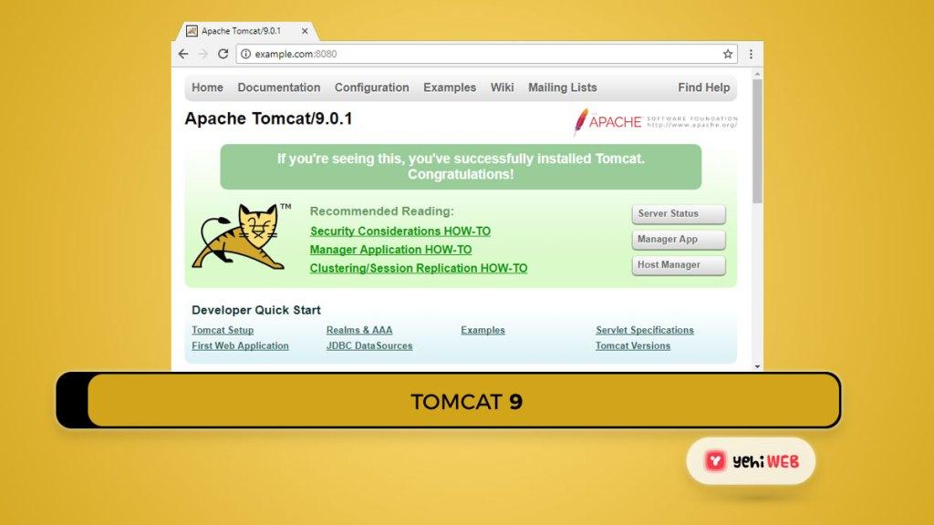 tomcat 9 yehiweb