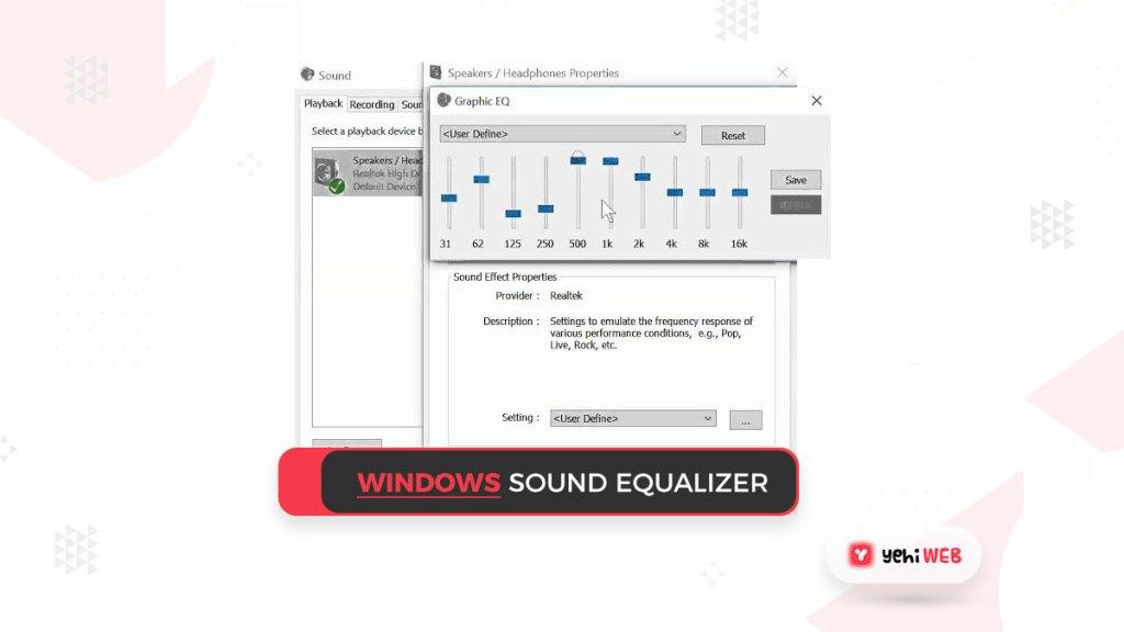 windows sound equalizer Yehiweb