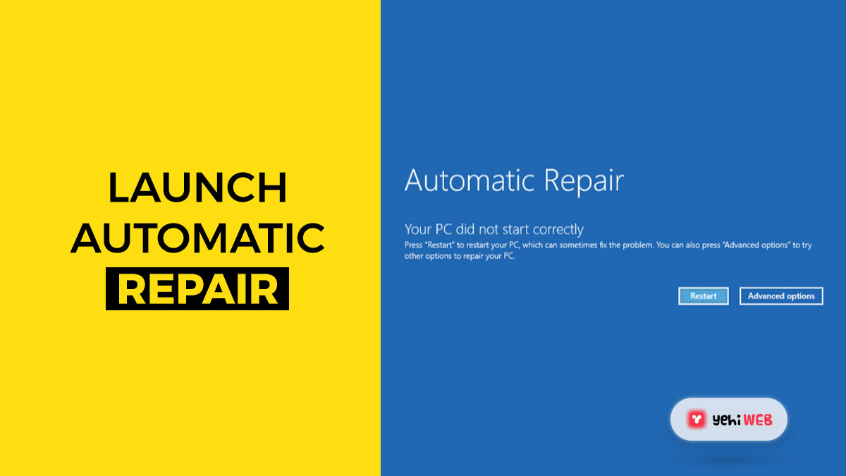 launch automatic repair yehiweb