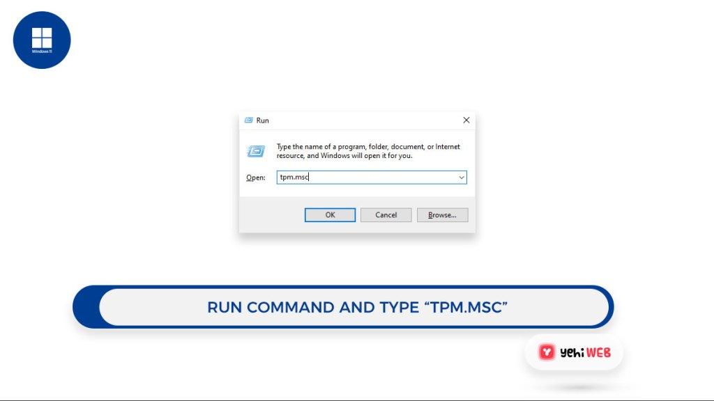 run command type tpm msc yehiweb