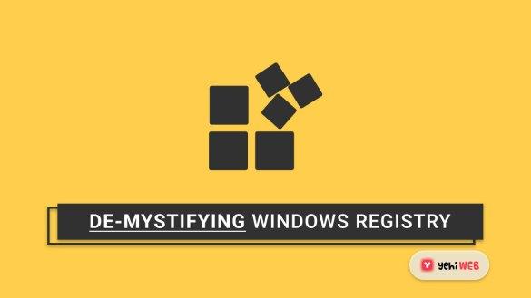 Windows Registry Basics De-mystifying the Windows Registry yehiweb