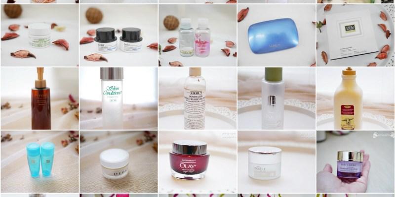 2015年小雯的空空賞-用光光的保養彩妝品分享