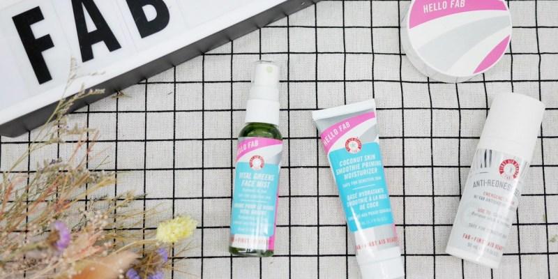 [保養] FIRST AID BEAUTY美國FAB 全膚質皆好用的保養及彩妝品推薦