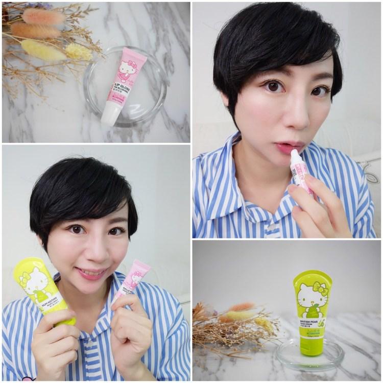 [保養] 平價也有好物,tsaio上山採藥Hello Kitty唇蜜和護手霜