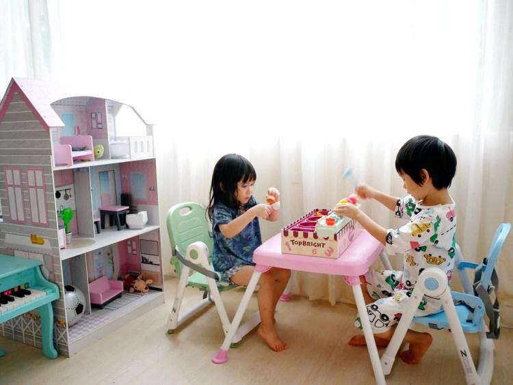 [親子] 超實用的美國ZOE折疊餐桌椅
