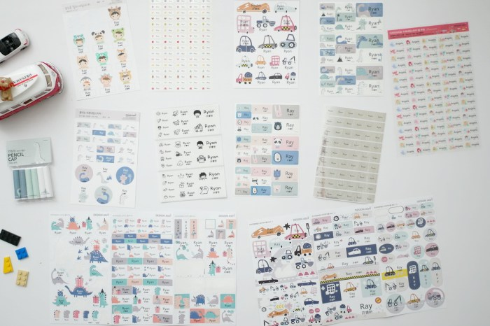[生活] 超可愛韓國DesignAgit客製化姓名貼