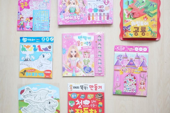 [親子] 各種好玩的遊戲書/勞作-韓國ROI BOOKS