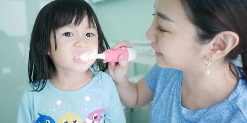 [親子] 超好用的兒童360度電動牙刷-日本Mega Ten