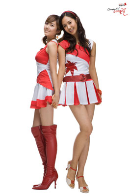 SNSD Jessica and Yuri cosplay for MapleStory