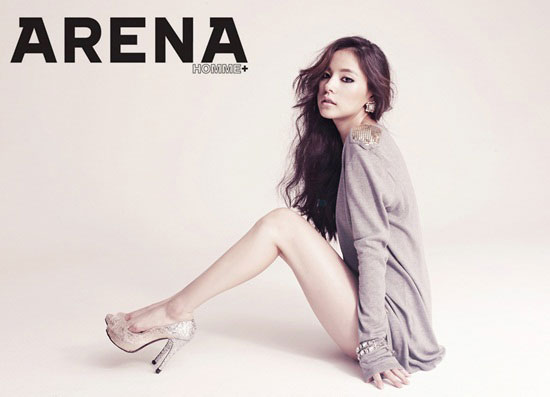 Min Hyo-rin on Arena magazine