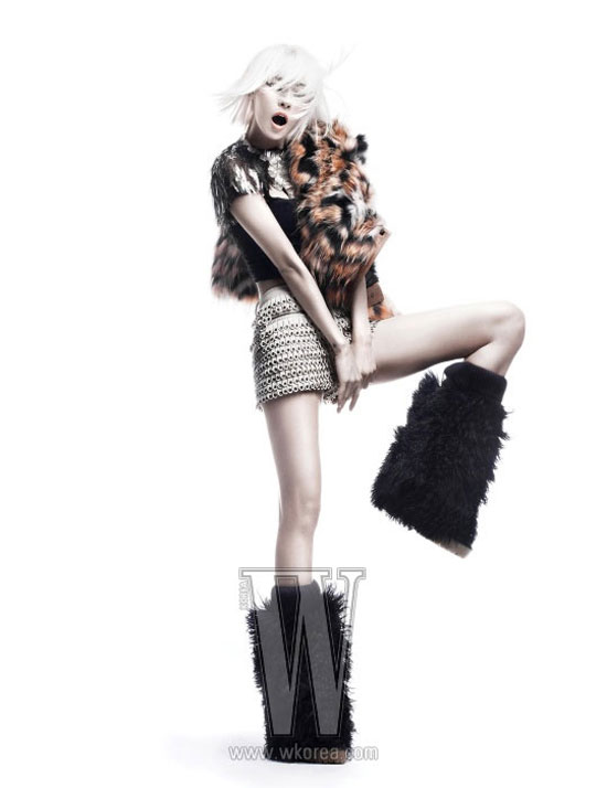 After School Kahi on W Magazine