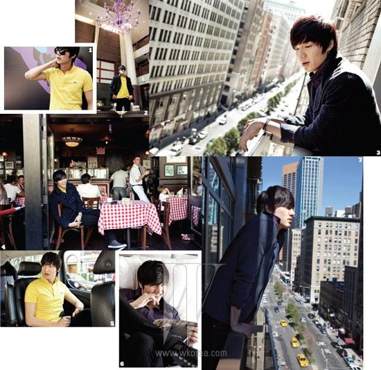Lee Min-ho on W Magazine