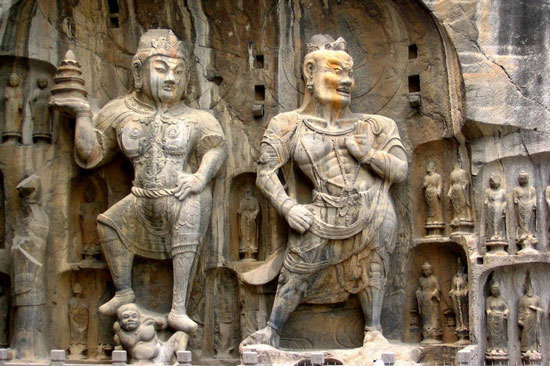 Longmen Grottoes, Luoyang, China