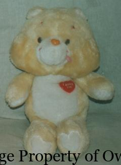 I Love You Bear - thetoyarchive.com