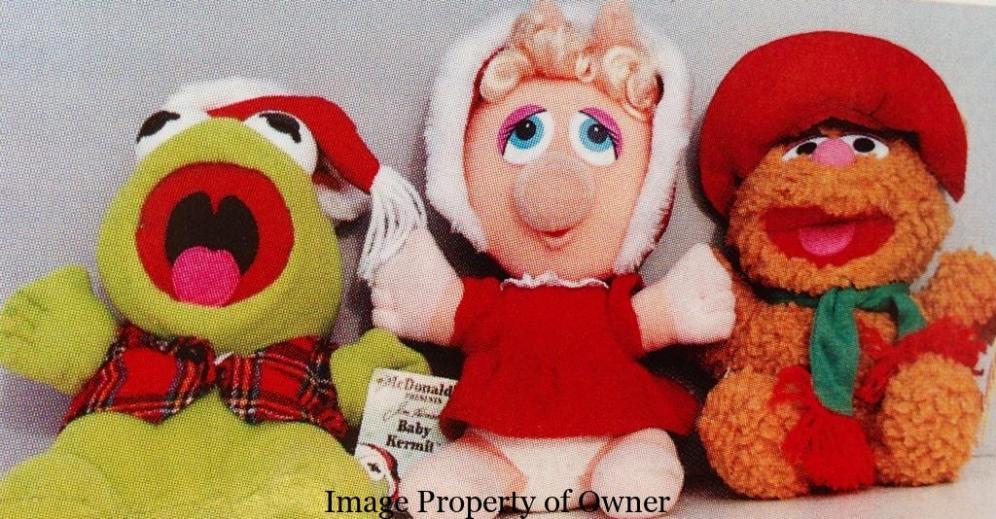 Muppet Babies Christmas dolls