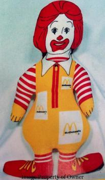 Ronald cloth doll